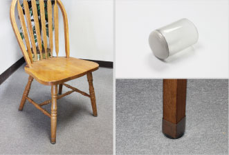New Clear Sleeve™ Sliders Prevent Carpet Damage Caused By Moving Furniture.  The Transparent, Flexible Sleeve Securely Forms To The Size And Shape Of  Chair ...
