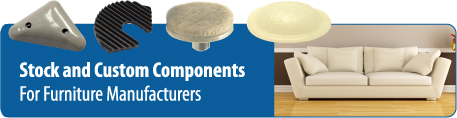 stock and custom components for furniture manufacturers